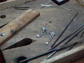 earrings craftmanship jewellery