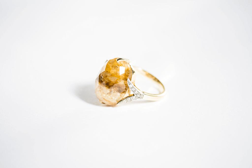 Sand Sapphire ring image 2