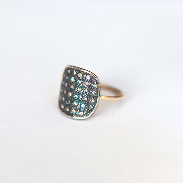 issa diamonds ring handcrafted