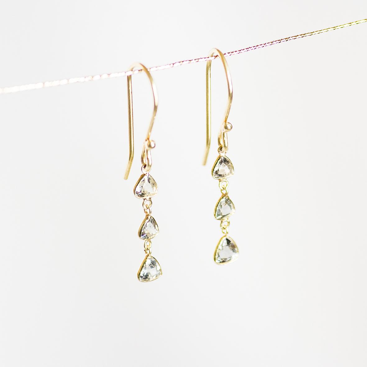 1. OONA_philo_principal_sapphire triangle long earrings