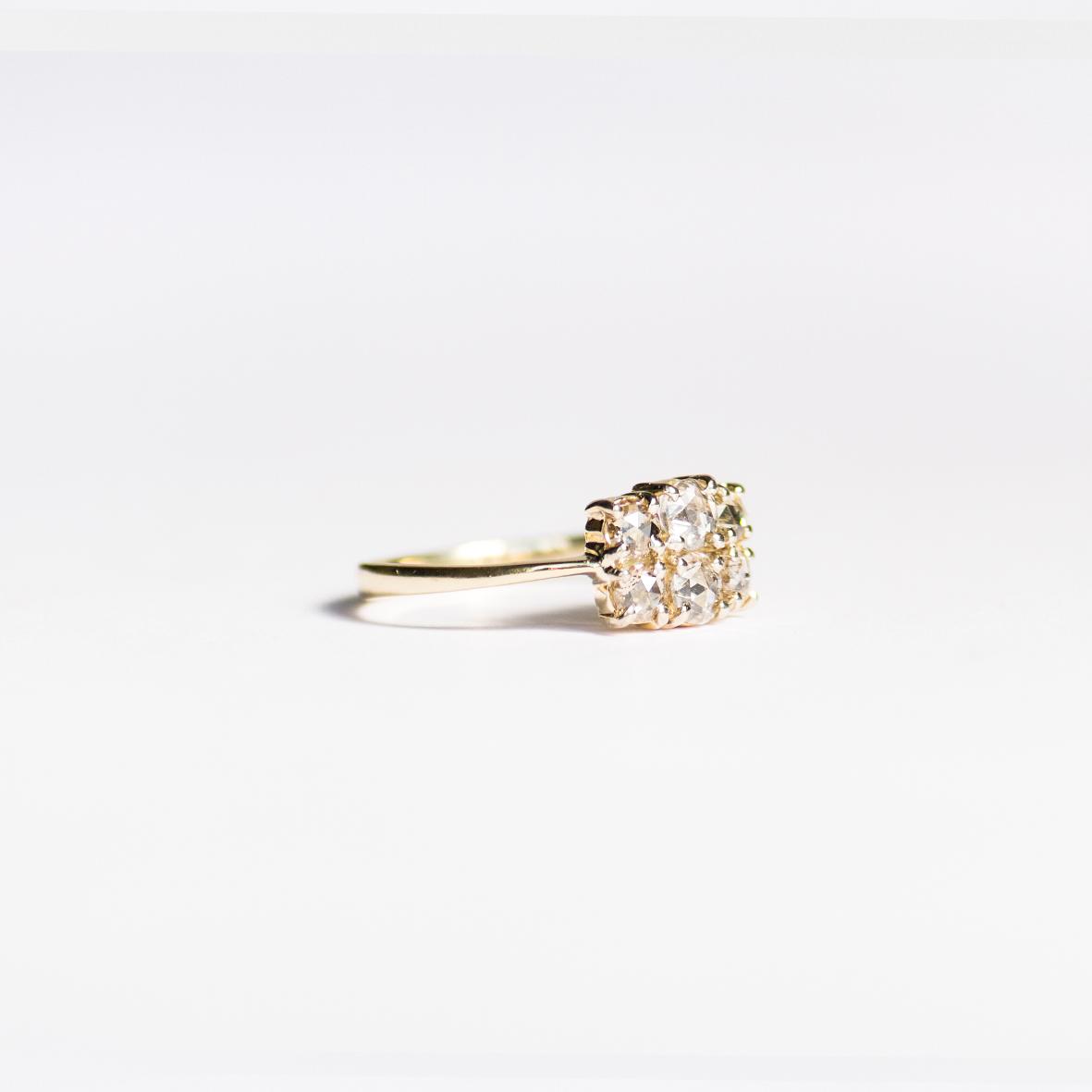 3. OONA_engagement_ficha2_six rose cut diamond ring