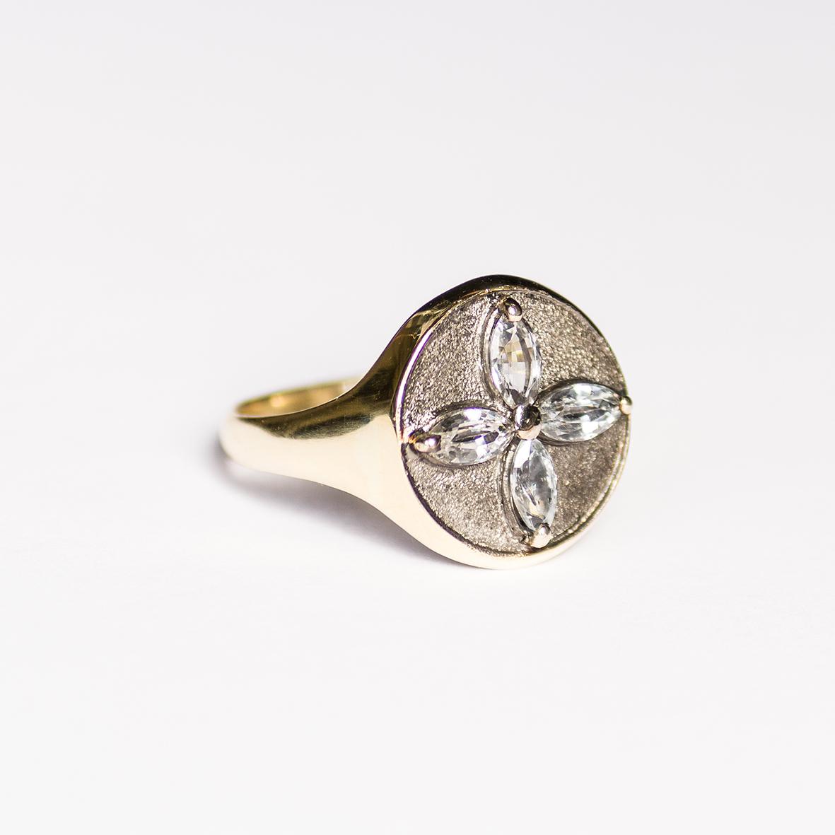 3. OONA_lotus_principal_signet flower sapphire ring 1