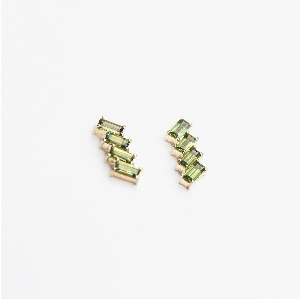 7. OONA_philo_principal_deco green sapphire earrings