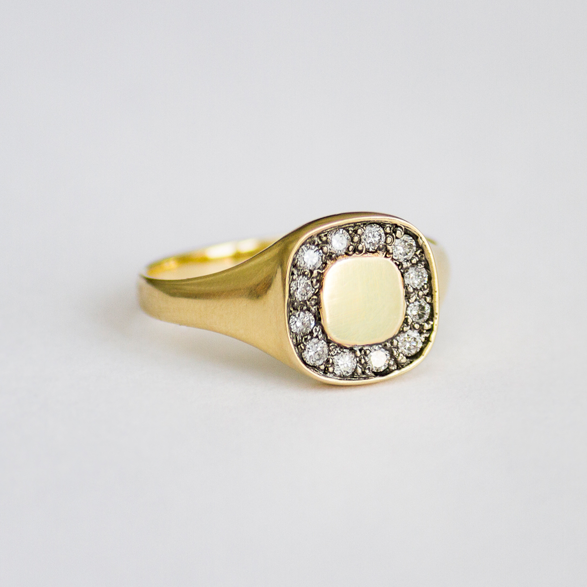 2. OONA_lotus_principal_signet square diamond ring