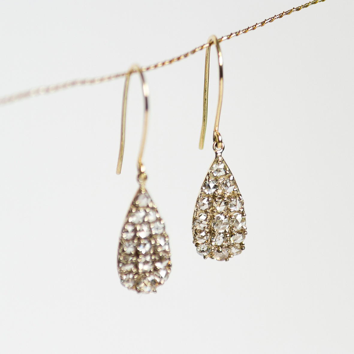 5. OONA_lotus_principal_drop rose-cut diamond earrings