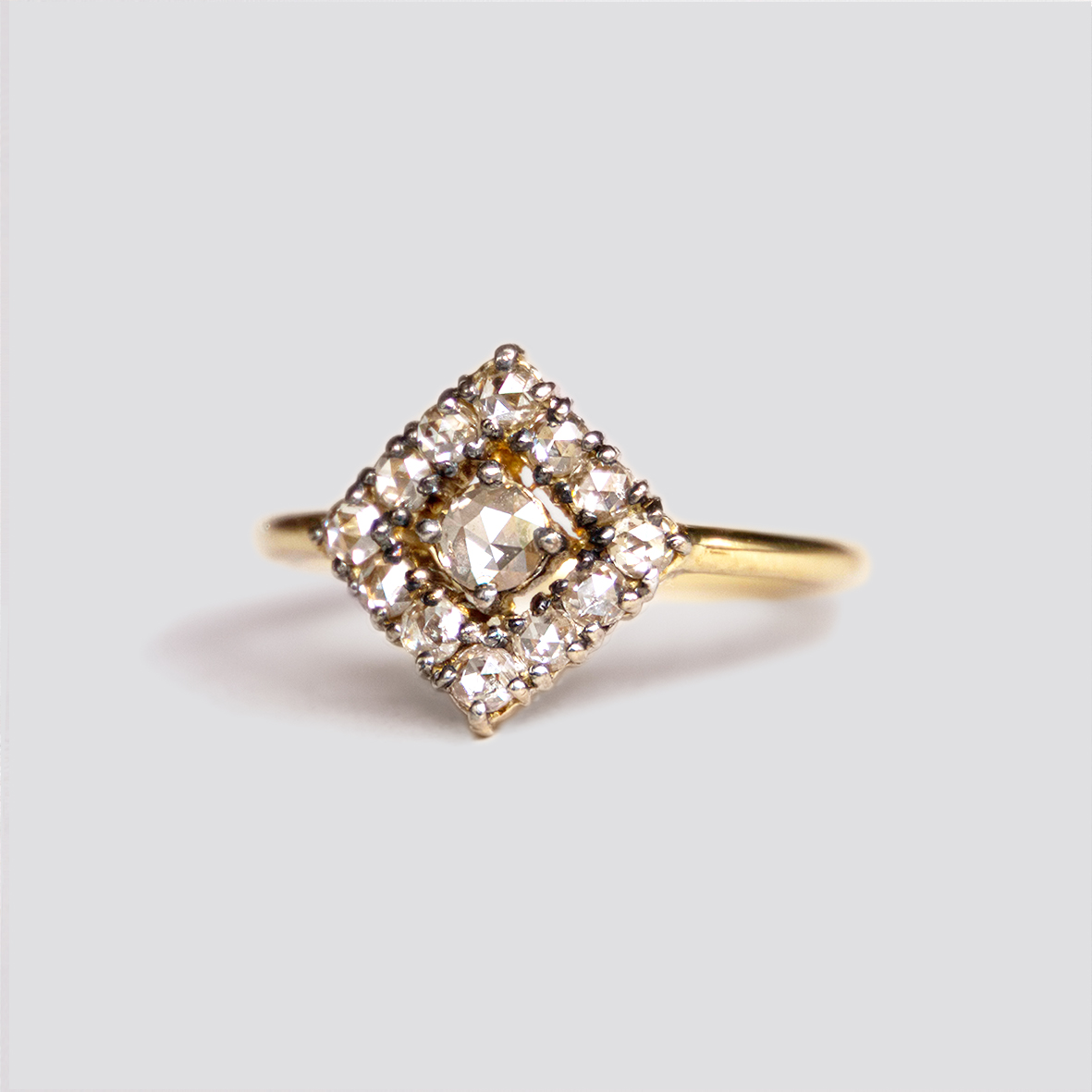1. OONA__lotus_principal_rhomb rose-cut diamond ring