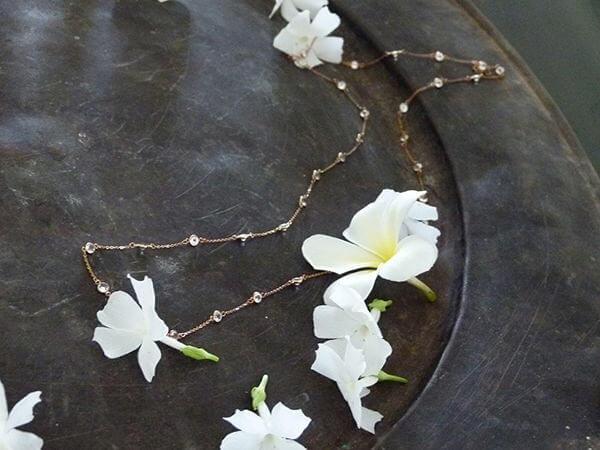 artisan necklace precious gems