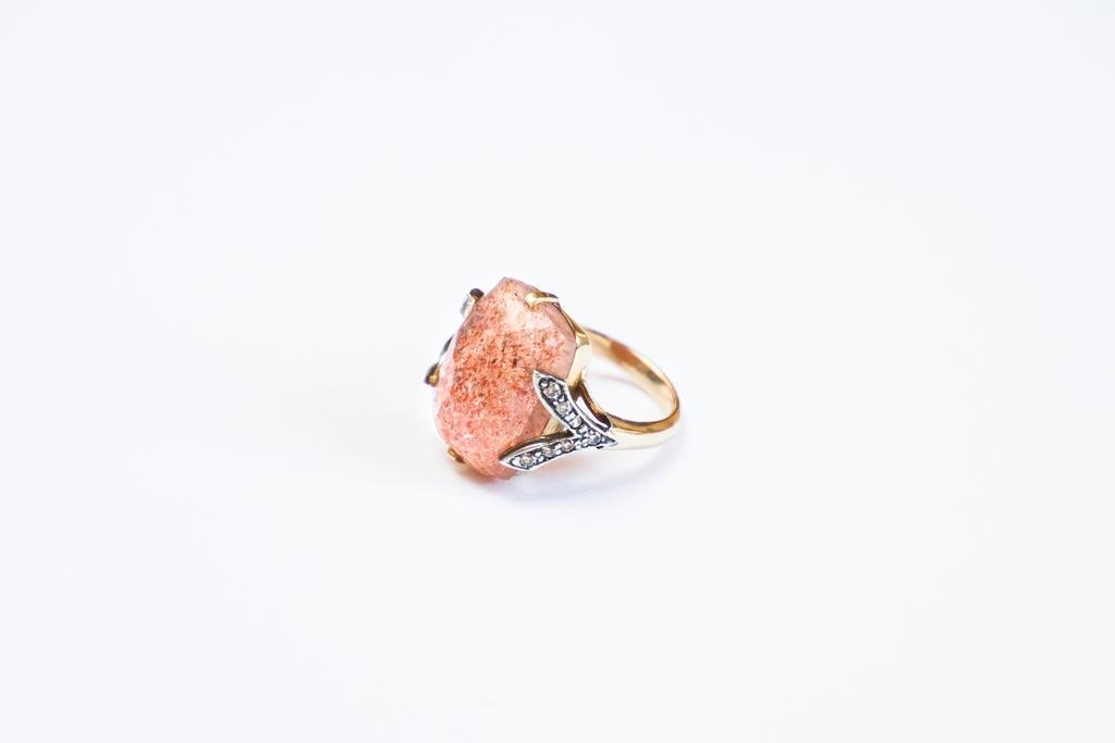 sun stone embrace ring image 2