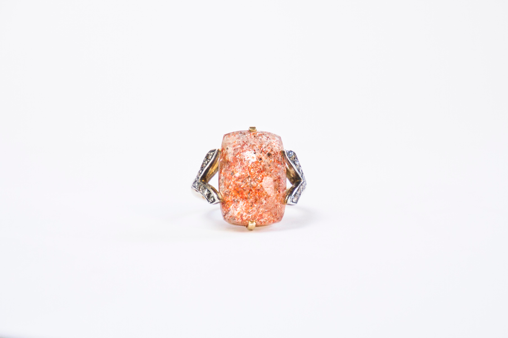 sun stone embrace ring image 1