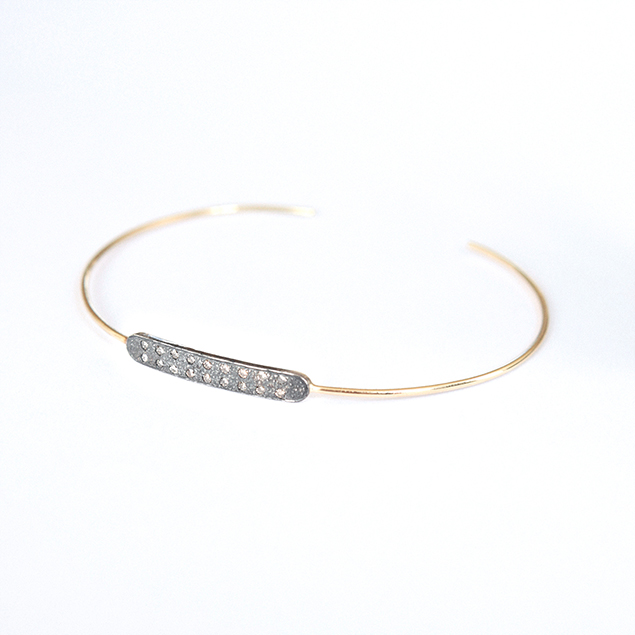 handmade issa diamonds bracelet