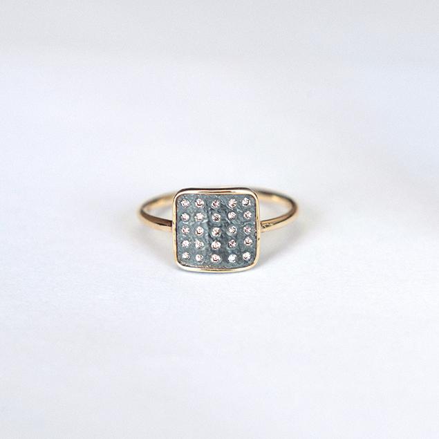 issa diamond ring handmade