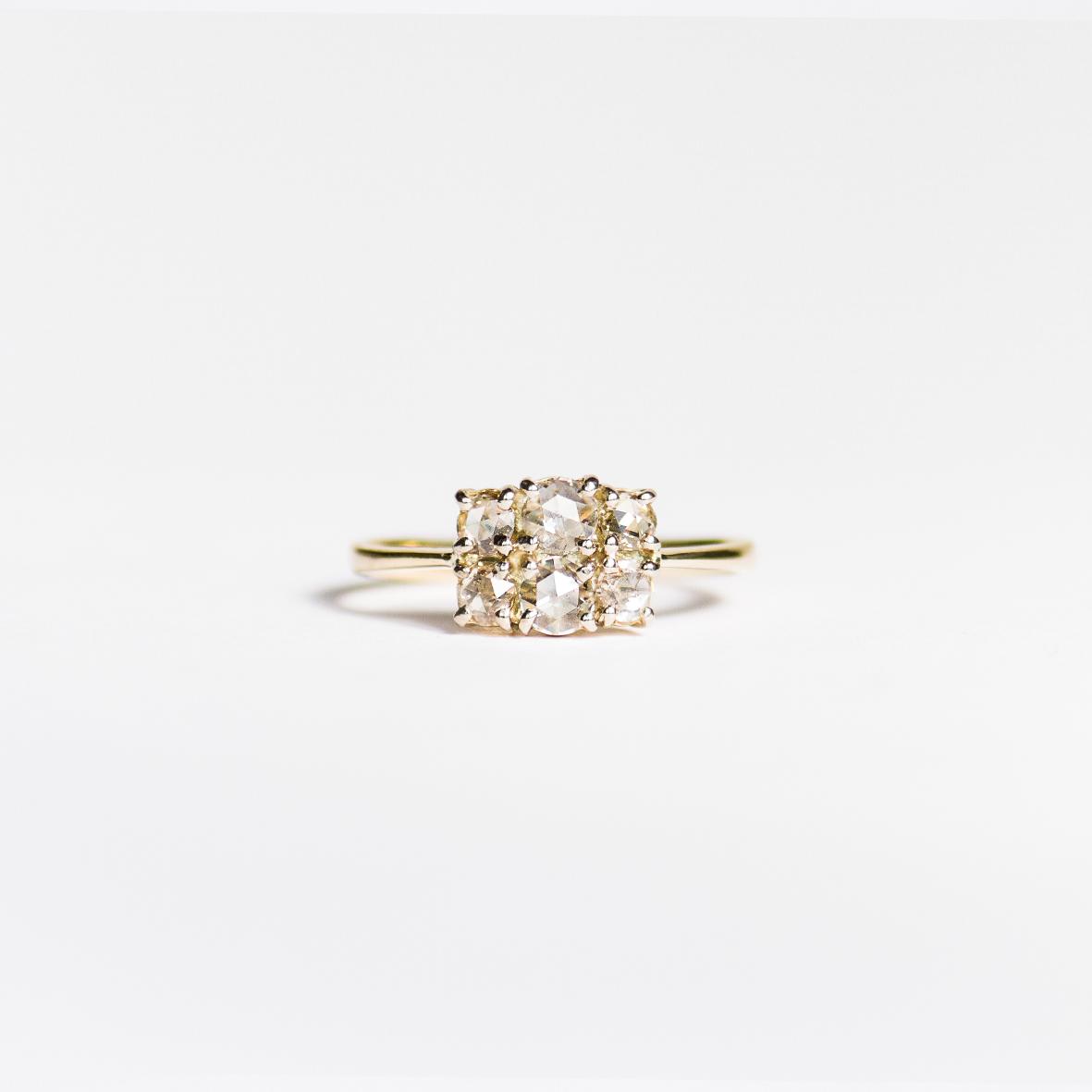 3. OONA_engagement_ficha1_six rose cut diamond ring