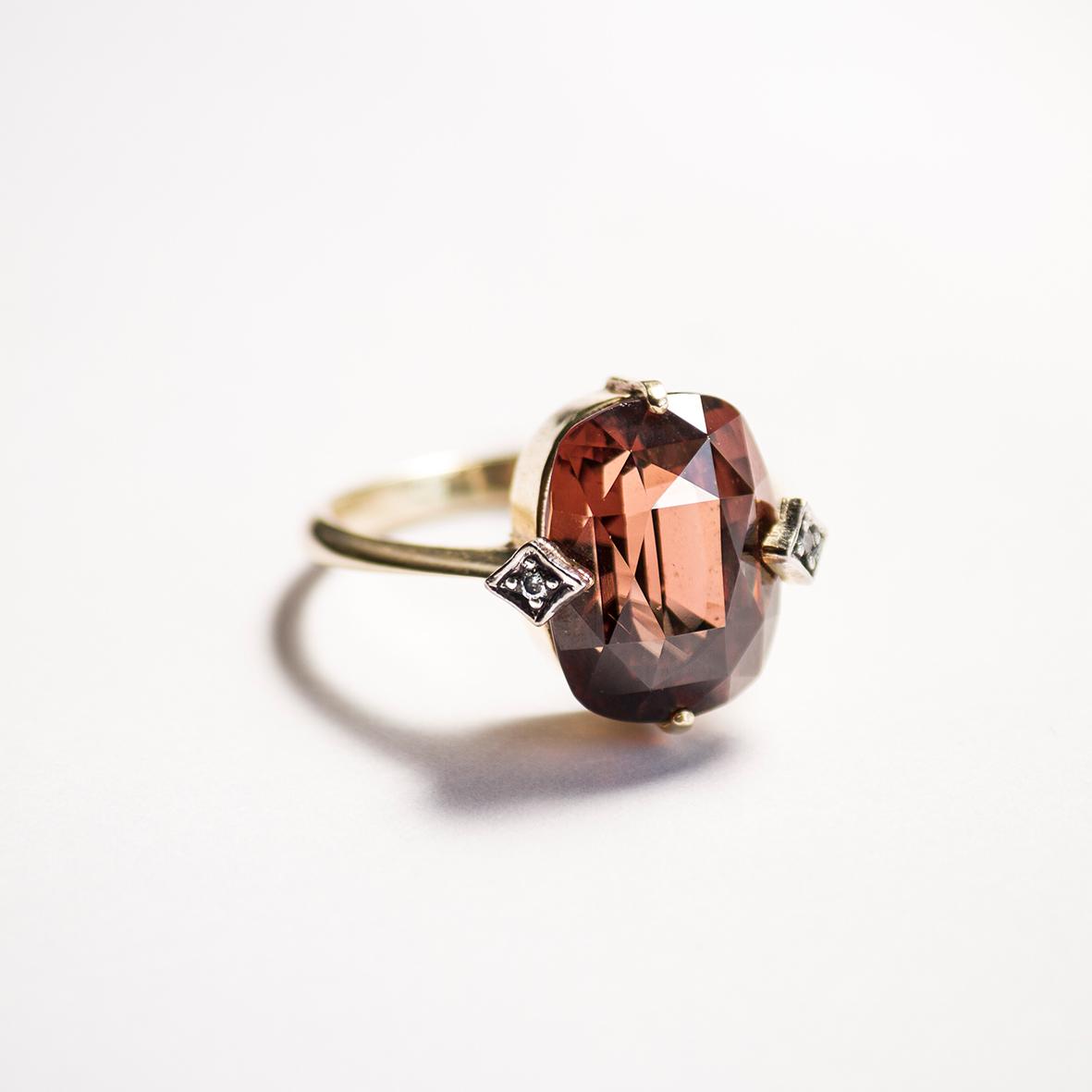 3. OONA_gems of ceylon_principal_red-brown zircon ring