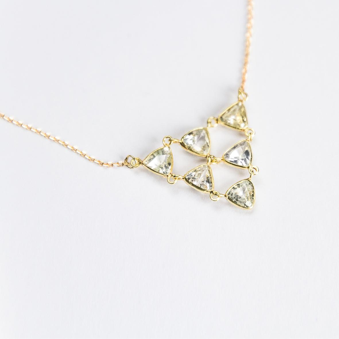 1. OONA_philo_principal_sapphire triangles cascade necklace