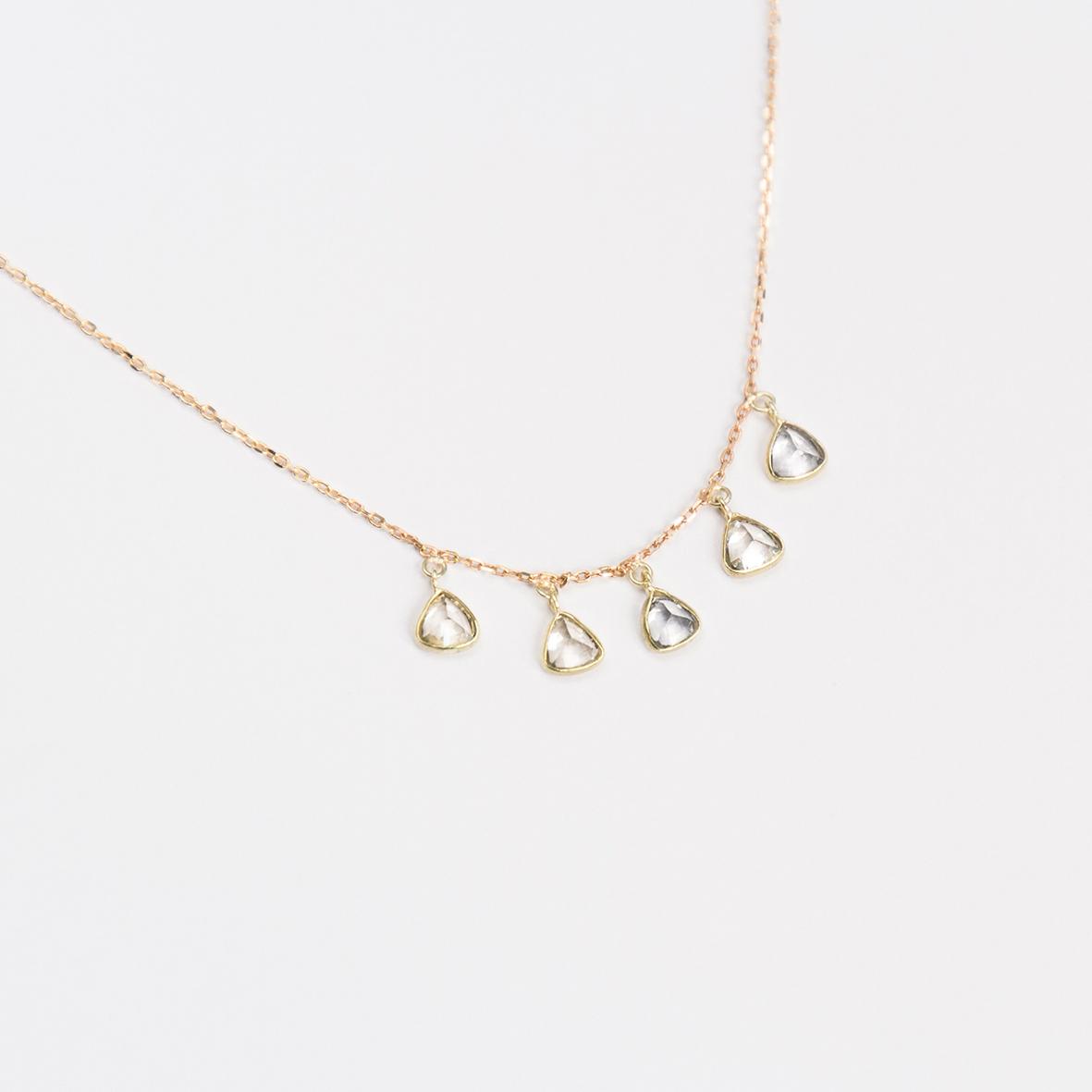 3. OONA_philo_ficha2_sapphire five triangles necklace