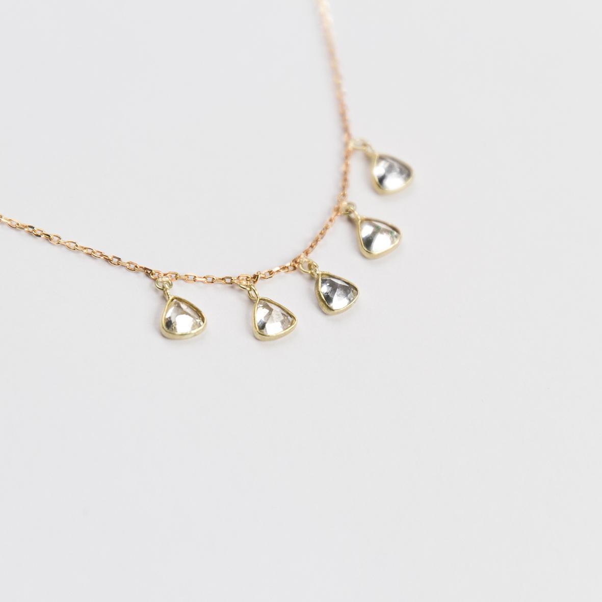 3. OONA_philo_principal_sapphire five triangles necklace